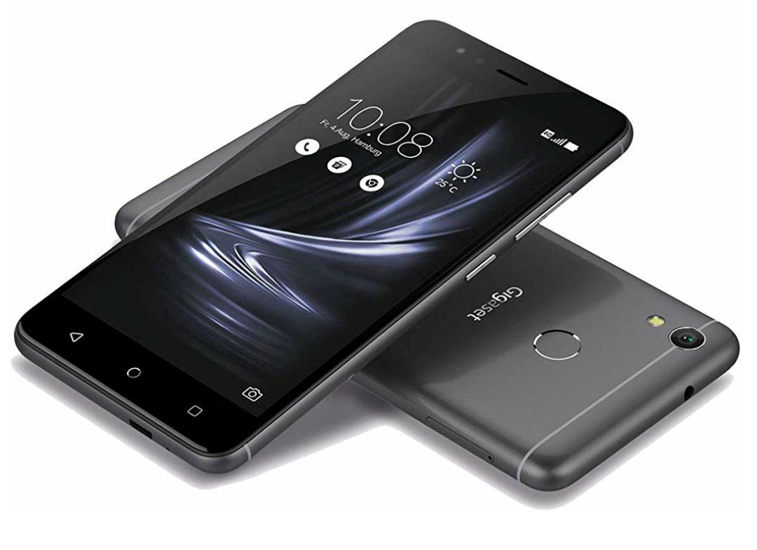 "Gigaset GS270 Plus LTE Smartphone, 3GB/32GB, 13,20 cm (5,2"" IPS Full HD Display), Android 8.1, Dual-SIM, 5.000 mAh in grau oder blau"