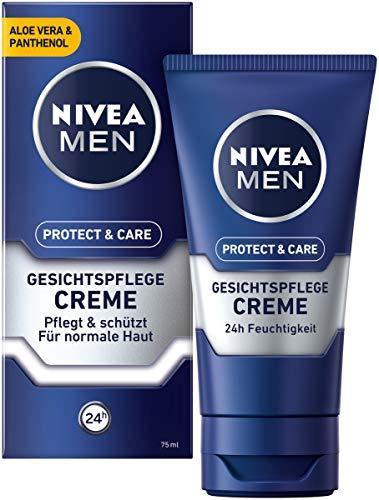 NIVEA MEN Protect & Care Gesichtspflege Creme im 3er Pack + kostenloses Multitool für 13,57