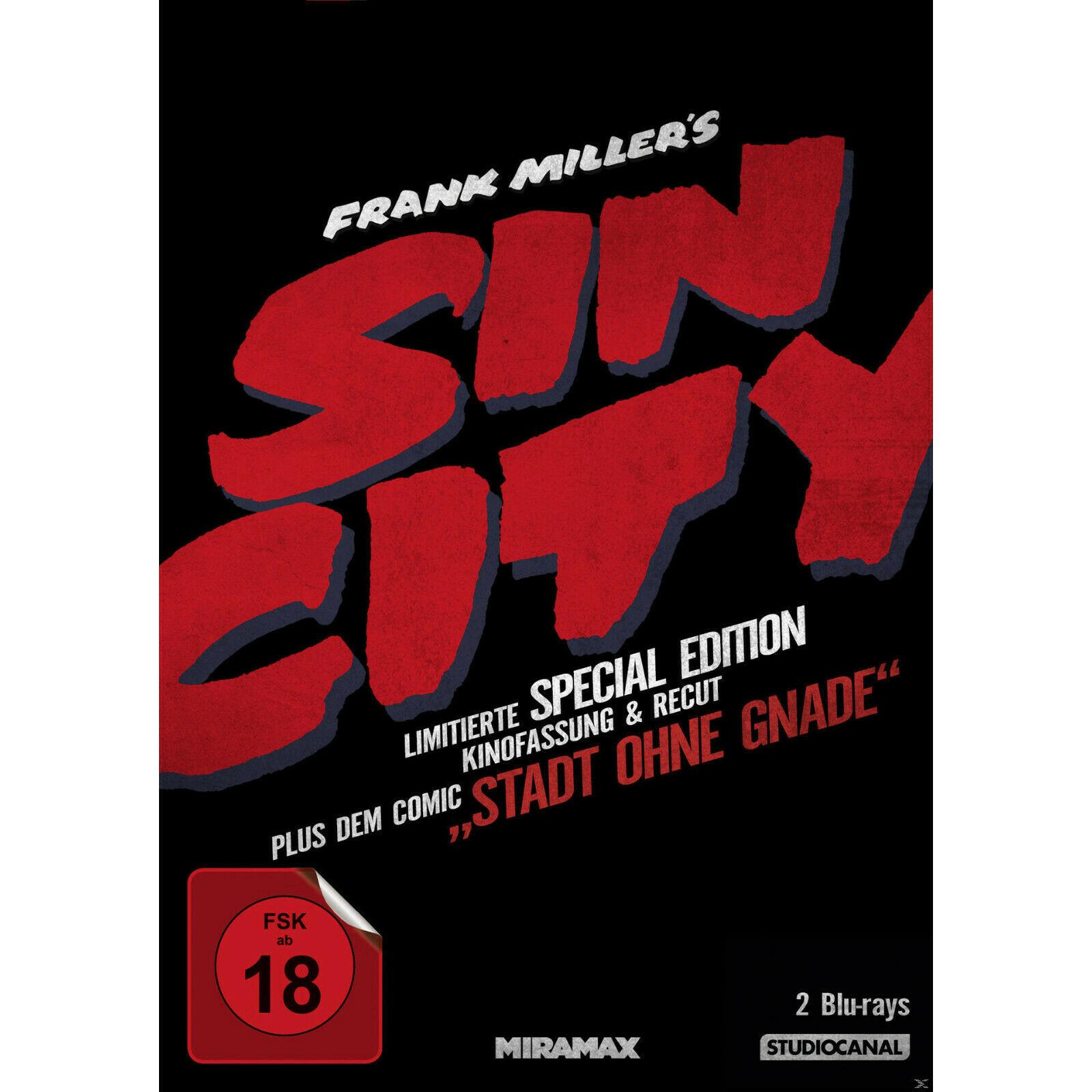 Sin City Kinofassung + Recut (Special Edition Blu-ray) für 6,99€ (Amazon & Saturn & Media Markt)