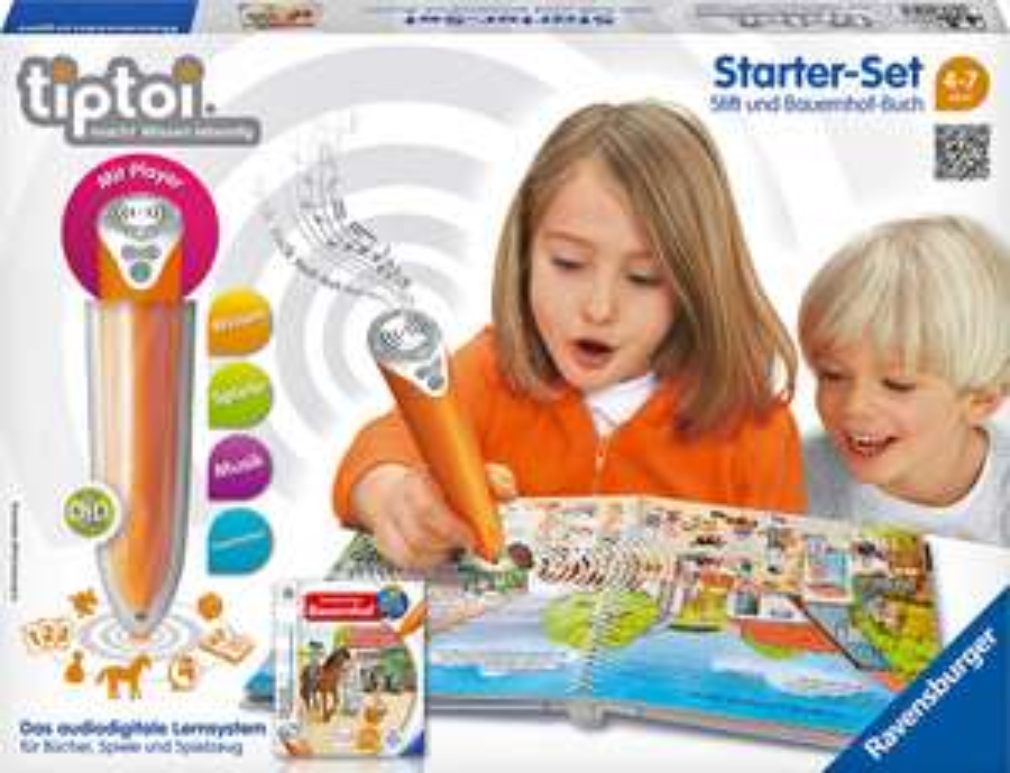 Ravensburger tiptoi-Starter-Set: Stift + Wörter-Bilderbuch (Bauernhof) für 24,99 € @ Kaufland ab 19.09.