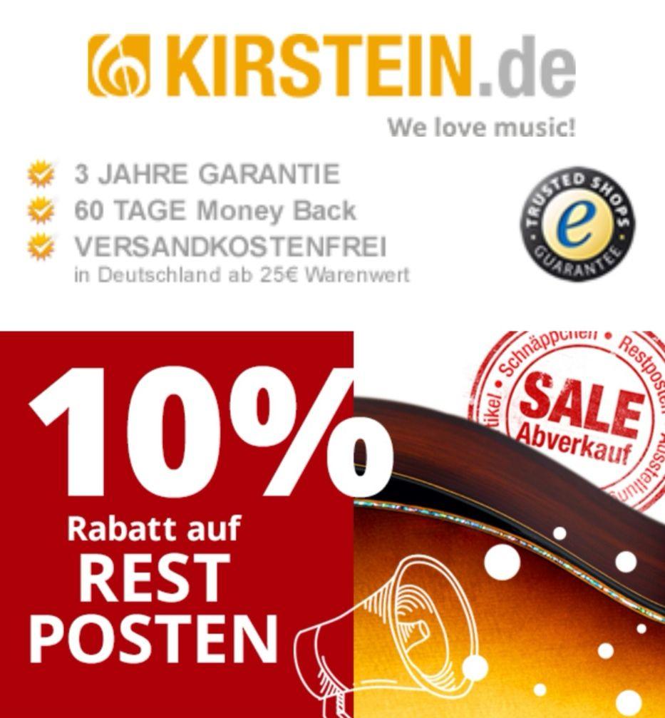 Kirstein 10% auf Restposten