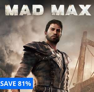Mad Max ps4 (UK Store)