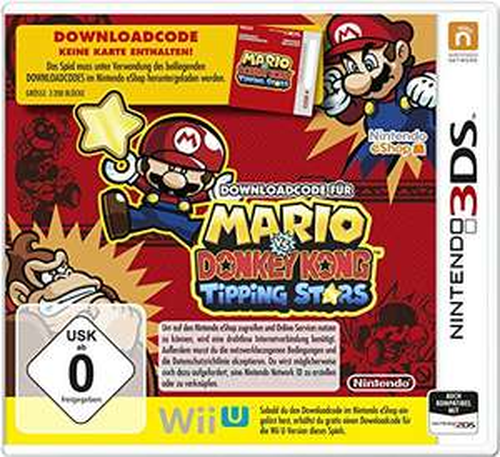 Mario vs. Donkey Kong: Tipping Stars (3DS & Wii U) für 9€ (Amazon Prime & Saturn)