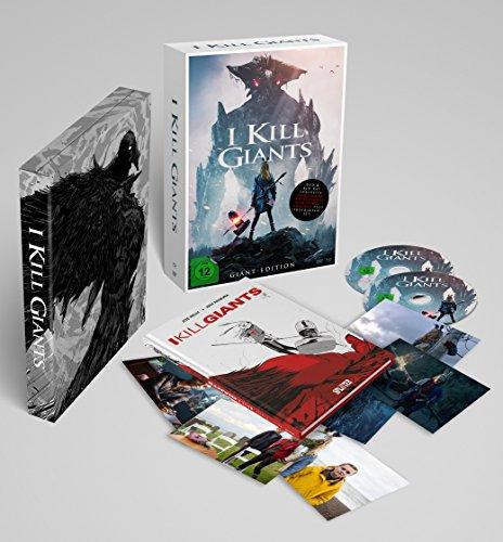 I Kill Giants Giant-Edition Limited Edition (Blu-ray + DVD inkl. Postkarten & Hardcover-Graphic Novel im Schuber) für 14,97€ (Amazon Prime)