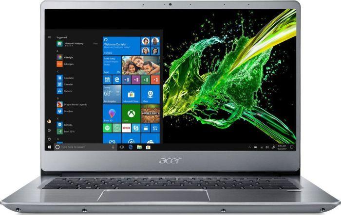 "Acer Swift 3 - 14"" FHD IPS Notebook (Ryzen 5 3500U, 8GB/512GB SSD, Vega8, 48Wh, Fingerprint, Tastaturbel., 1.5kg, Win10) SF314-41-R8HZ"