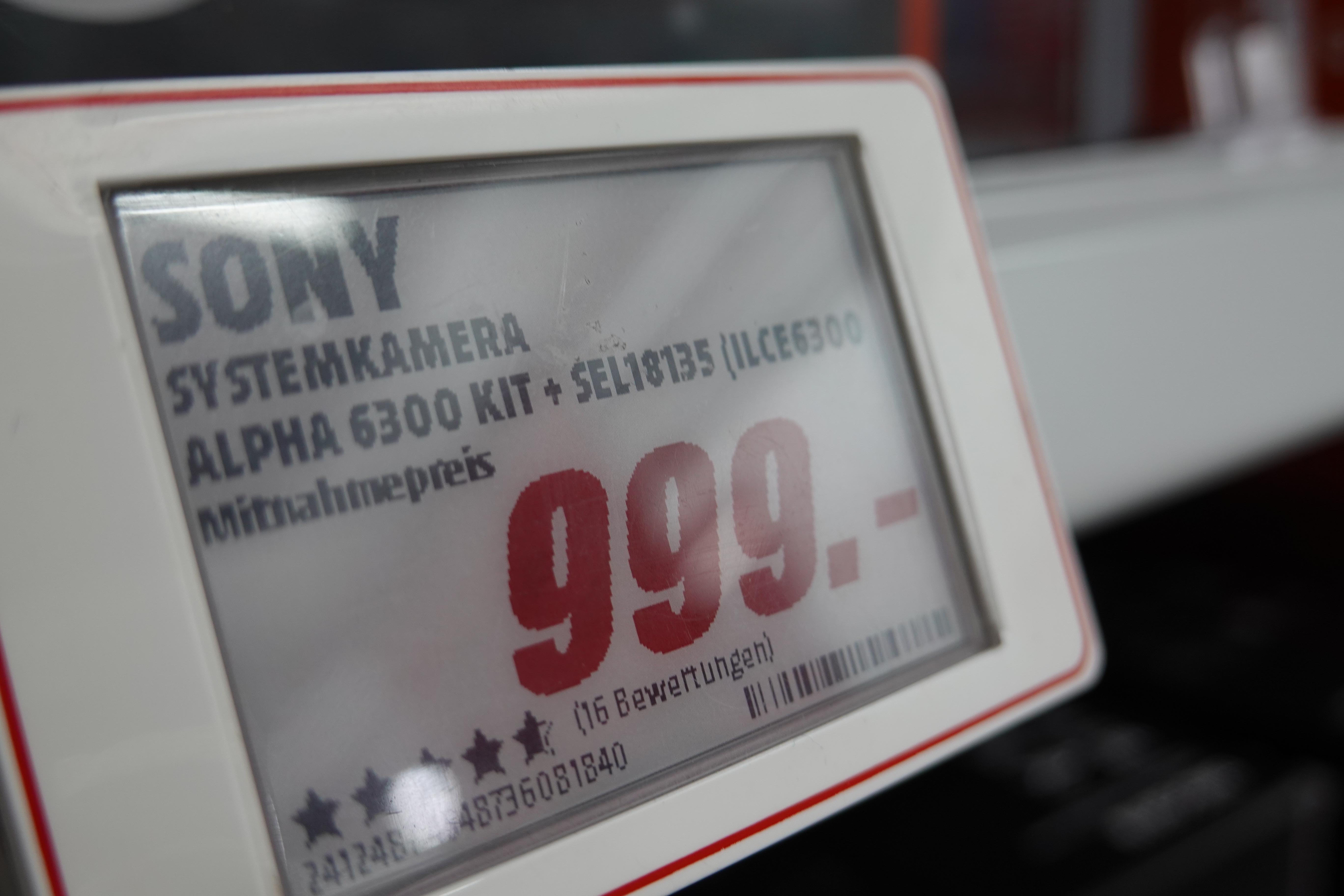 Sony 6300 inkl. 18-135 und Extra Garantie