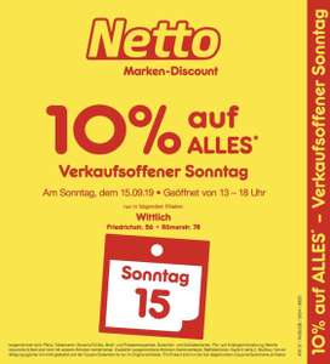[Lokal Netto Wittlich] 10% auf alles