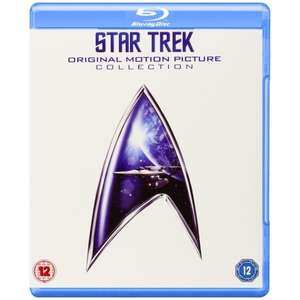 Star Trek Original Motion Picture Collection 1-6 (Blu-ray) für 15,93€ (Shop4de)