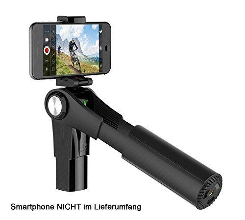 3-Achsen-Gimbal Snoppa M1 (für Smartphones von 58-85mm Breite, 5 Modi, ~4h Akkulaufzeit, App, kompakt zusammenklappbar, 450g)
