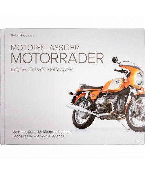 Buch Motor-Klassiker Motorräder von Peter Henshaw 328 Seiten / Zweisprachig