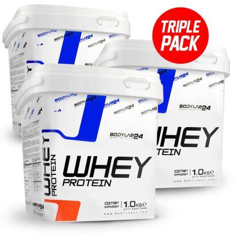 Whey-Protein von Bodylab24 - 11,11 Euro /kg bzw. 12,74 Euro/ kg bei Einkauf unter 50 Euro