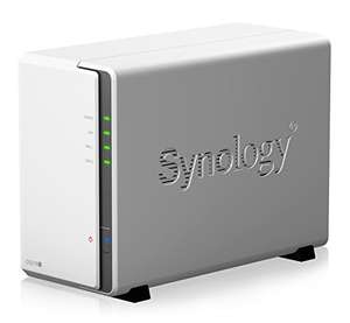 Synology NAS DS218j NAS inkl. 2x Ironwolf 10TB Festplatten für 592,27€ (Amazon ES)