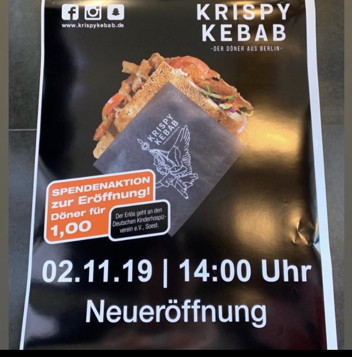 [Soest] Krispy Kebab - Döner essen für den guten Zweck