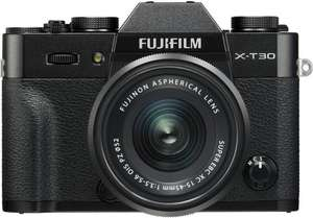Fujifilm X-T30 Systemkamera inkl. Fujinon XC15-45F3,5-5,6 Objektiv