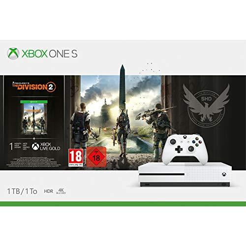 Xbox One S 1TB - Tom Clancy's The Division 2 Bundle für 186,92€ (Amazon FR)