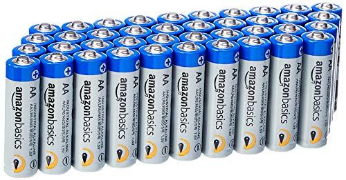 AmazonBasics AA Industrie Alkalibatterien, 40er Pack [Amazon Prime]