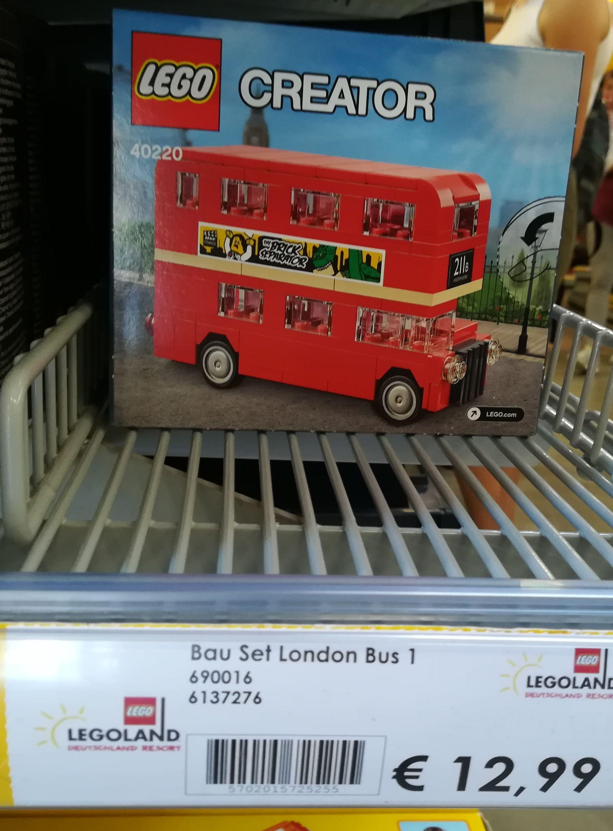 [Lokal, Legoland Günzburg] Lego Creator - London Bus 40220
