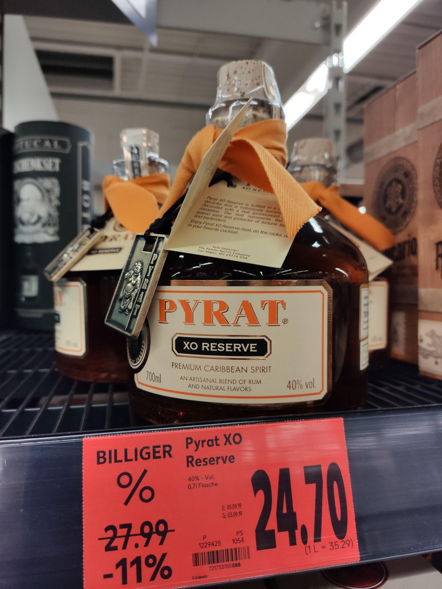 Pyrat XO Reserve 15 Jahre Rum [lokal Kaufland Friedrichshafen]