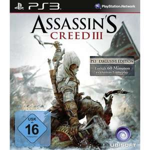 [PS3] Assassin's Creed 3 Bonus (exklusiv) Edition für 40,97€ @ Amazon.de