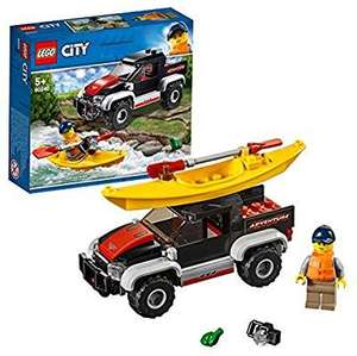 LEGO Sammeldeal z.B City 60240 Kajak-Abenteuer [Amazon Prime]
