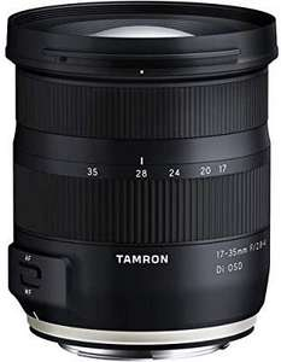 Tamron A037 Objektiv, 17-35mm F/2.8-4 Di OSD schwarz für 399€ & Tamron 70-210 mm F/4 Di VC USD Nikon Objektiv für 419€ [Amazon]