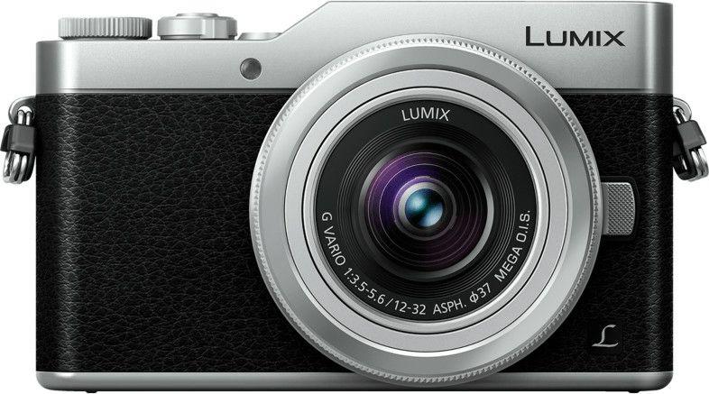 Panasonic Lumix DC-GX800KEGS Systemkamera (16 Megapixel, 4K30p Video, MFT, Hybrid Kontrast AF, mit Objektiv Lumix G VARIO 12-32mm) Silber
