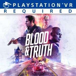 Blood & Truth VR-Spiel PS4 [PS+]