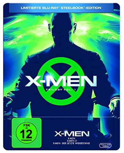 X-Men Trilogy Vol.1 Limited Steelbook Edition (Blu-ray) für 19,97€ (Amazon Prime)