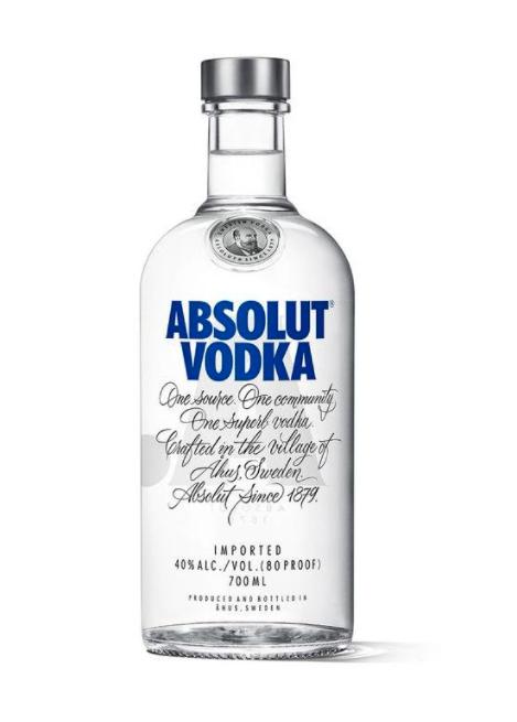 [Top12.de] Spirituosen im Angebot, zB 5x Absolut Vodka 0,7l