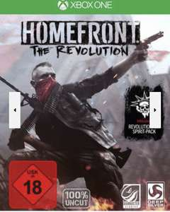 [lokal, Weißenfels] Homefront: The Revolution - Day One Edition Xbox One Xbox One