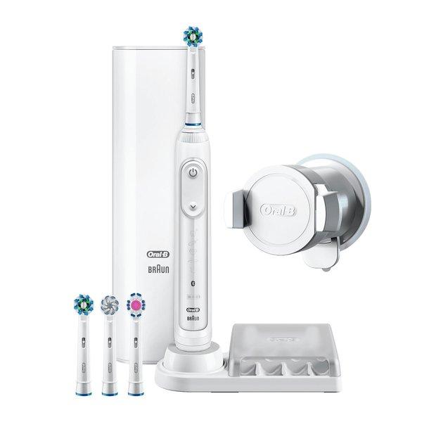 Oral-B Genius 9000N Weiß für effektiv 39,99€ durch 50€ Cashback (8800 Rotationen/Min, 40.000 Pulsationen/Min, Appsteuerung per Bluetooth)
