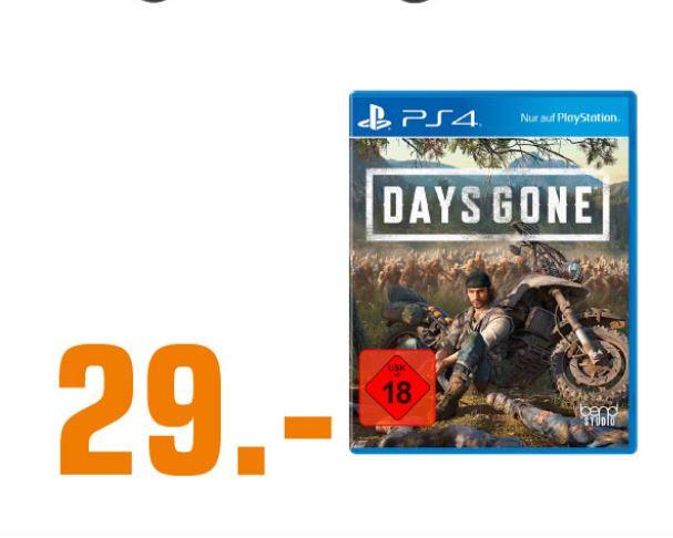 [Lokal Saturn Hamburg alle Märkte und  Norderstedt] Days Gone PS4