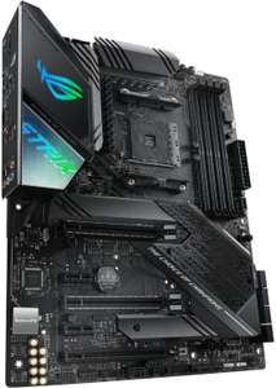 Asus X570 Promo: z.B. Asus ROG Strix X570-F Gaming (ATX, AMD X570 für Ryzen 3000, 4x DDR4-4400, 3x PCIe 4.0, HDMI, DP, USB-C, RGB-Header)