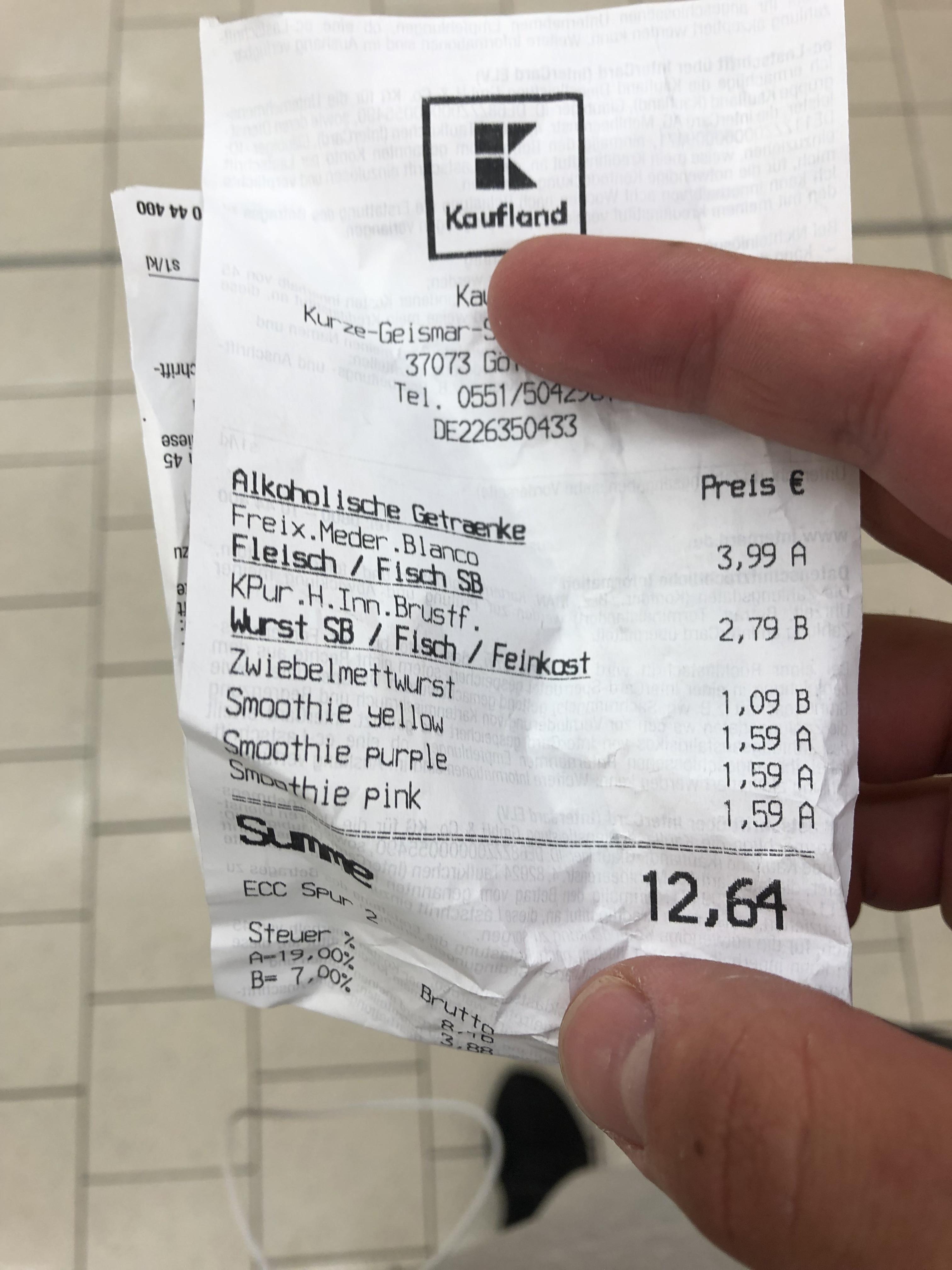 LOKAL - True fruits Smoothies in der 750ml Variante für 1,59€