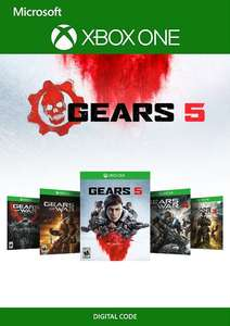 Gears 5: Bundle Pack (Xbox One) für 37,59€ (CDkeys)
