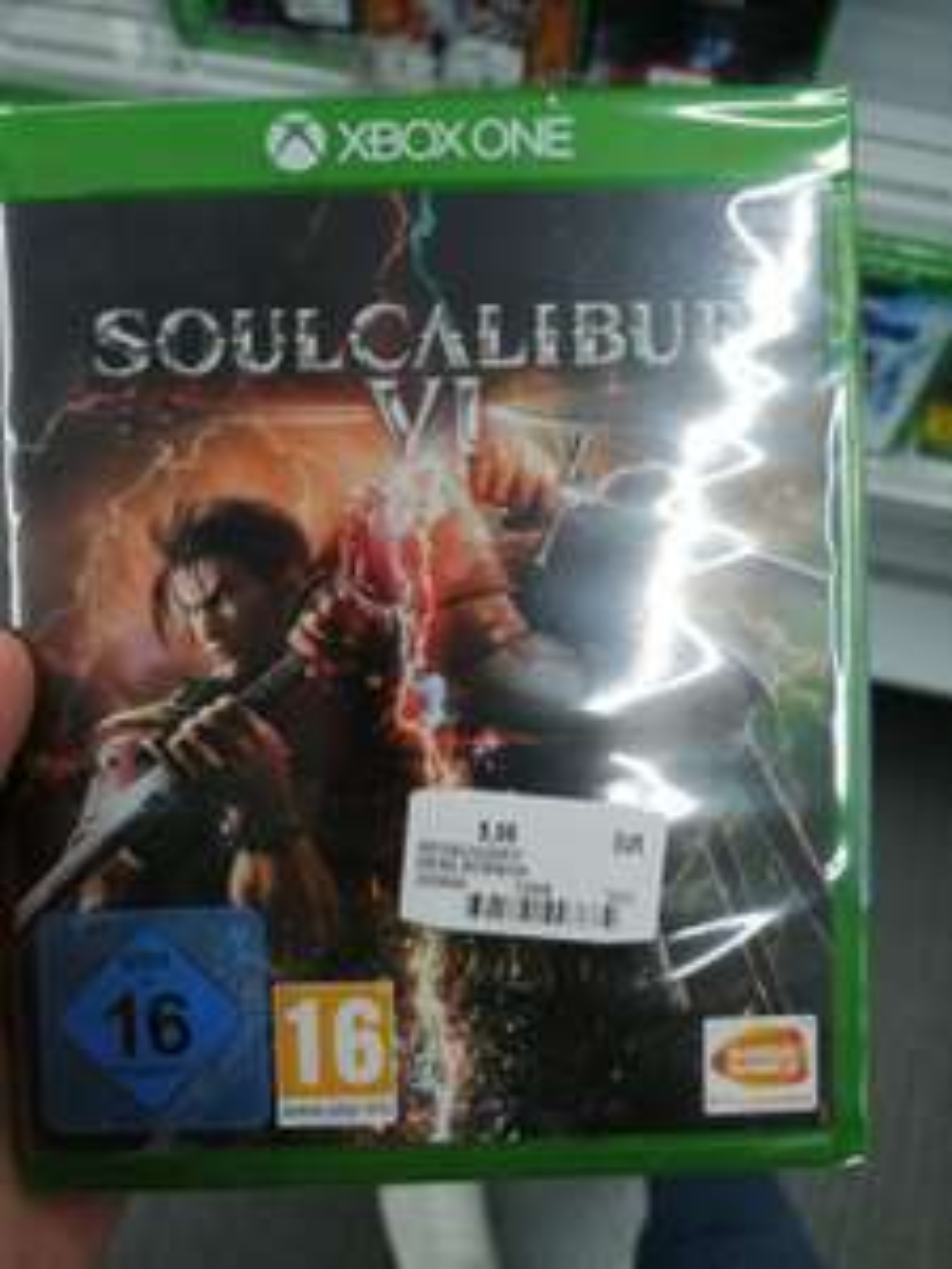[Lokal Mediamarkt Rheine] SoulCalibur VI & Tales of VesperiaDefinitive Edition (Xbox One) für je 9,99€