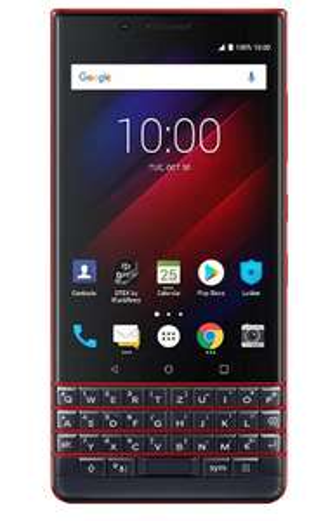 BlackBerry KEY2 LE Business Smartphone, 64/4GB, Dual-SIM, Rot (Blau & Silber für 319€)
