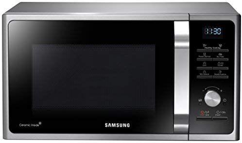 Samsung MG28F303TCS/EG Mikrowelle mit Grill / 900 W / 28 L Garraum (Extra groß) / silber / 20 Vital Programme [Amazon]