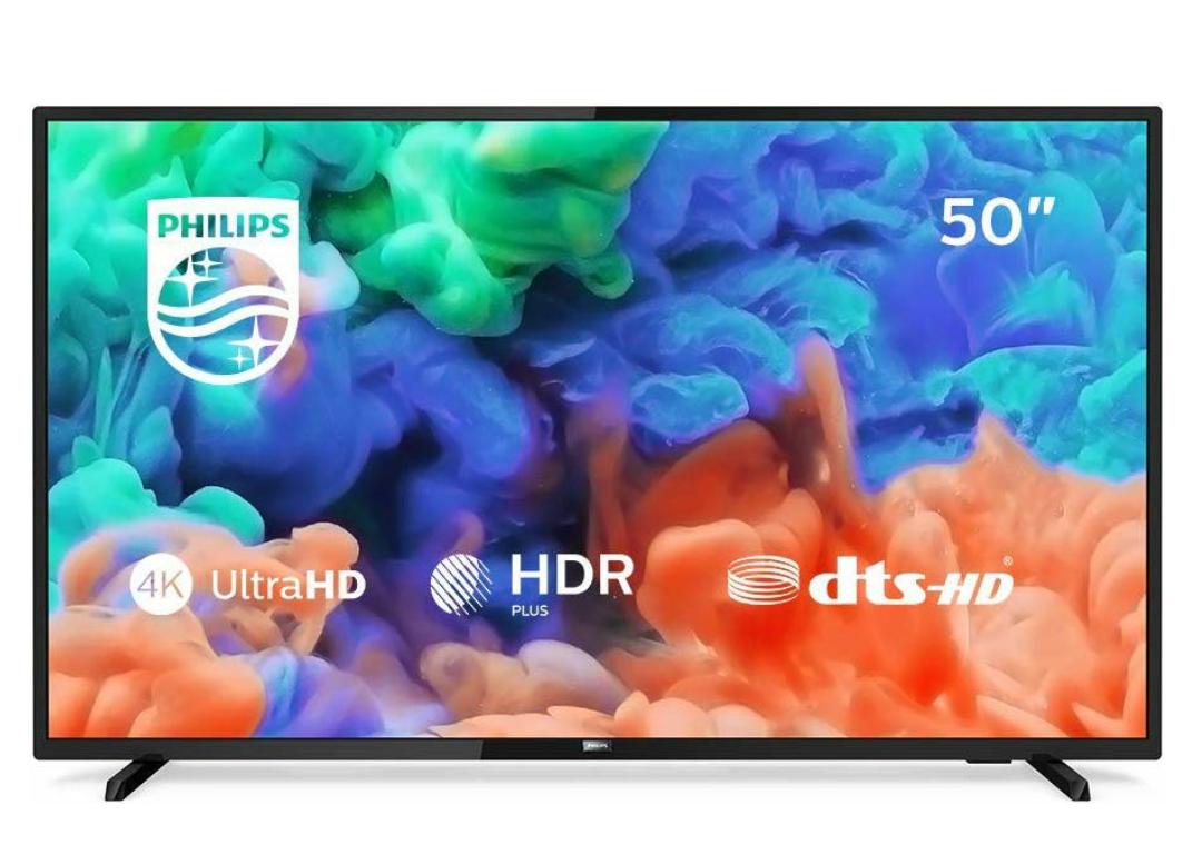 Philips 50PUS6203/12 126 cm (50 Zoll) LED-Fernseher (4K Ultra HD, HDR+, Smart TV, Triple Tuner)