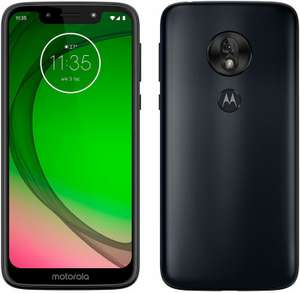 Motorola moto g7 play Dual-SIM Smartphone (5,7 Zoll Display, 13-MP-Kamera, 32GB/2GB, Android 9.0) Fine Gold/Deep Indigo