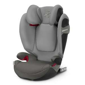 cybex GOLD Kindersitz Solution S-Fix Manhattan Grey