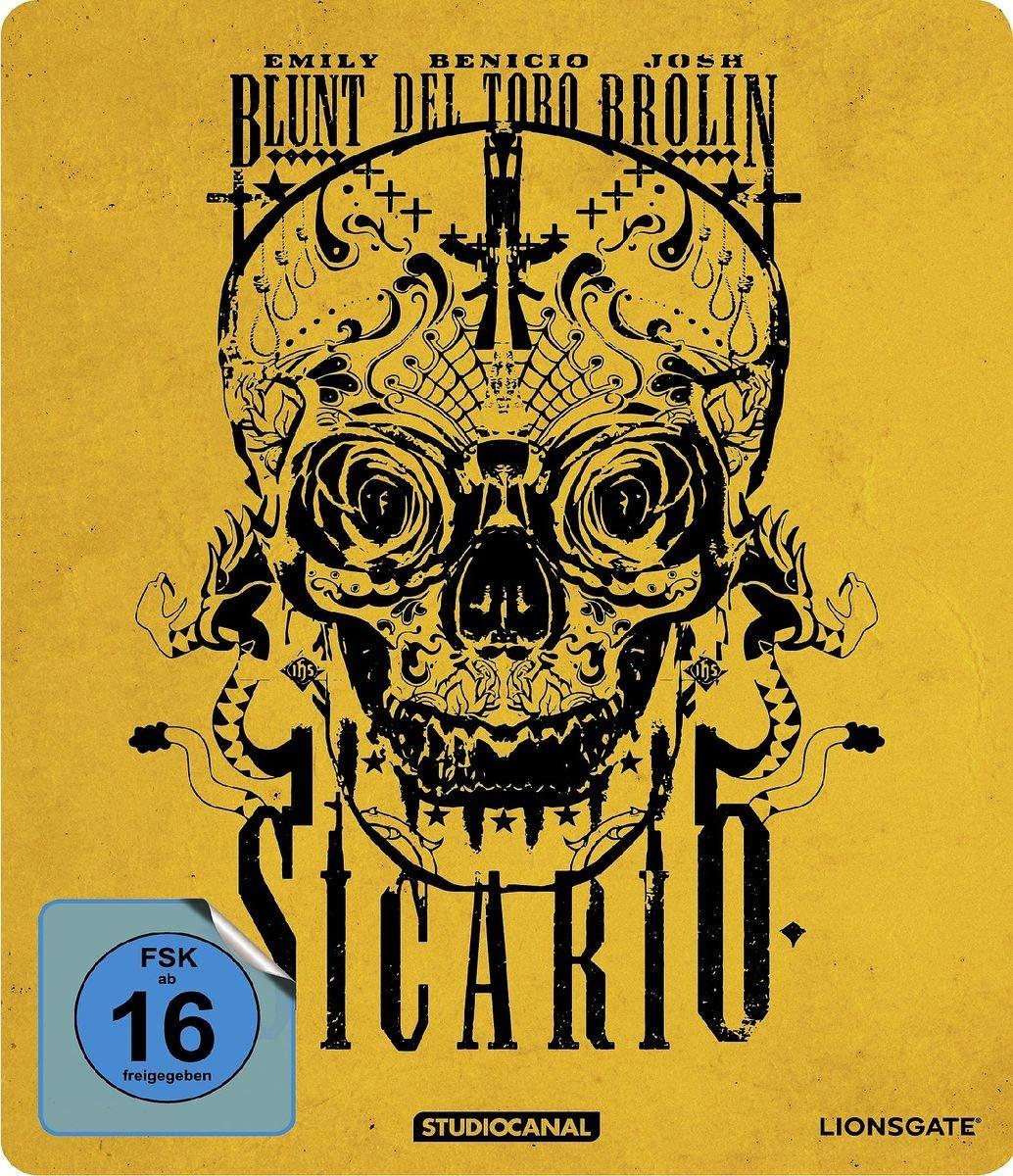 Sicario Limited Edition Steelbook (Blu-ray) für 7,99€ (Saturn & Media Markt)