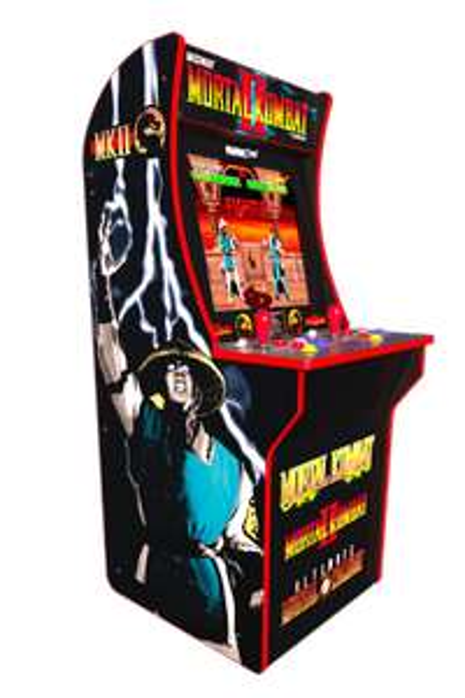 Arcade1Up Mortal Kombat Automat mit Original Arcade Versionen von MK1, MK2 und Ultimate MK3 für 2 Spieler