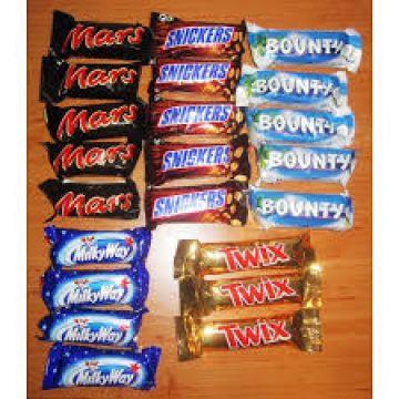 [Metro Krefeld] Mars, Bounty, Milky Way, Snickers und Twix Mini 303 g