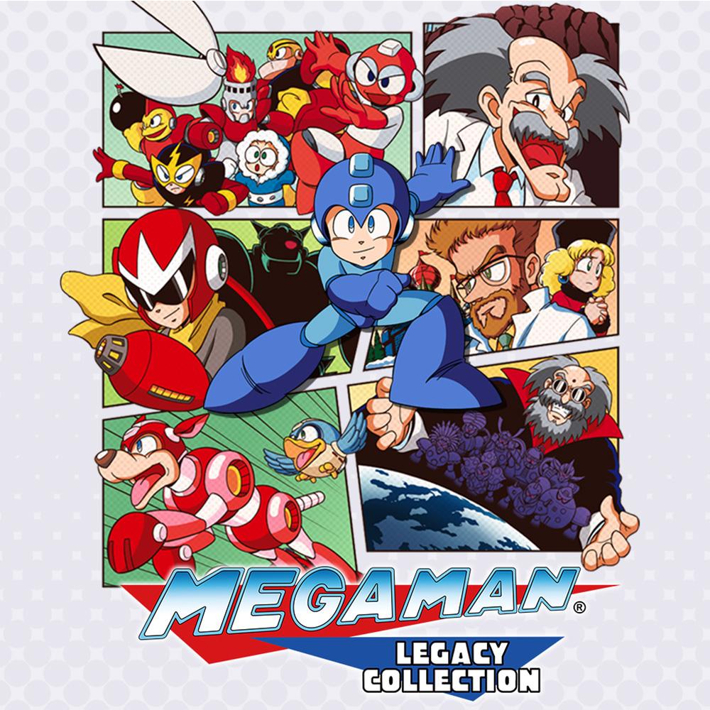 Mega Man Legacy Collection & Mega Man Legacy Collection 2 (Switch) für je 9,89€ oder für 8,49€ Sweden (eShop)