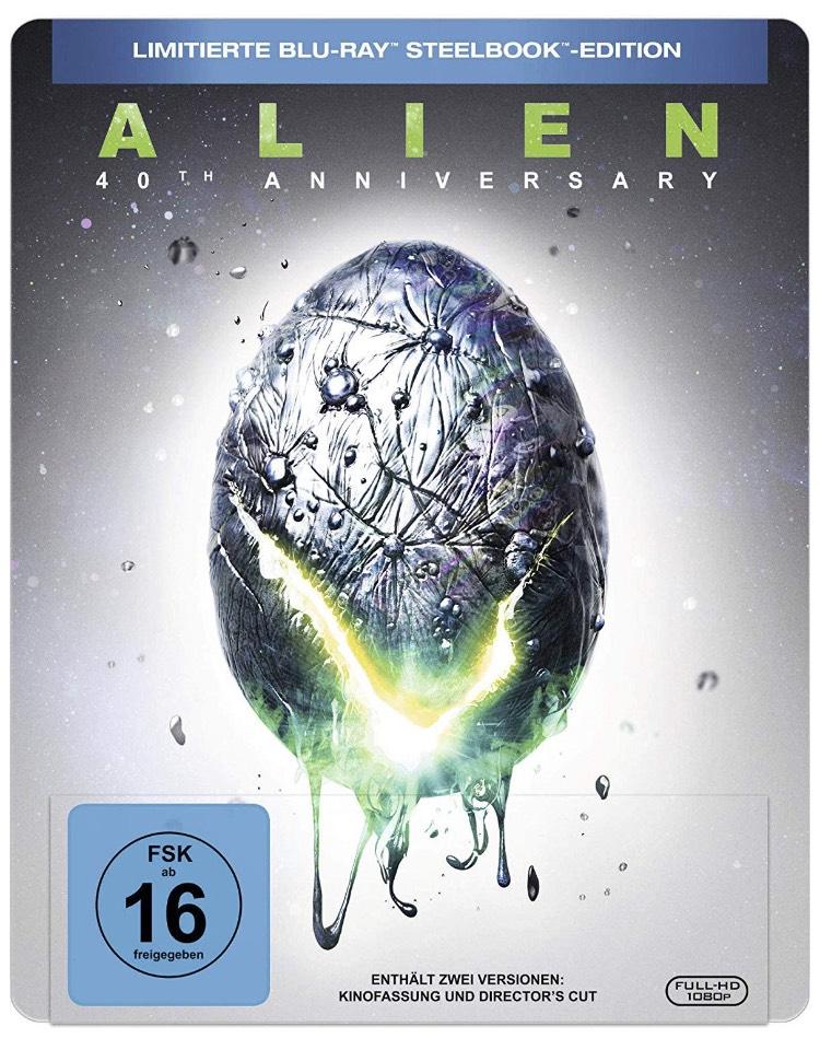 Alien - 40th Anniversary Steelbook - Limited Edition [Blu-ray]