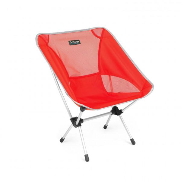 Helinox Chair One Faltstuhl rot/ silber Campingstuhl