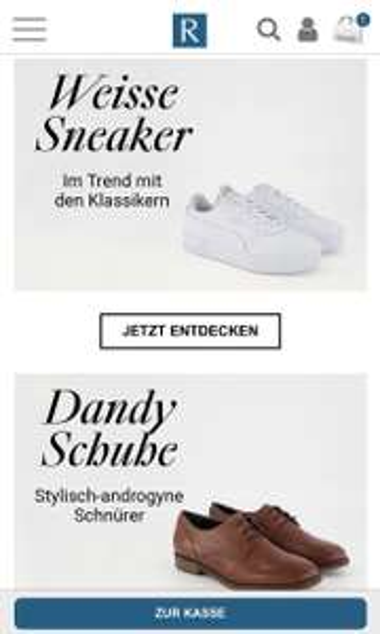Roland Schuhe - 20% ab 79,95€ (ausser Sale)