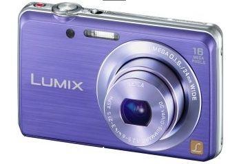 [Saturn] Panasonic Lumix DMC-FS45 violett - ggf. + 4,99 Versand