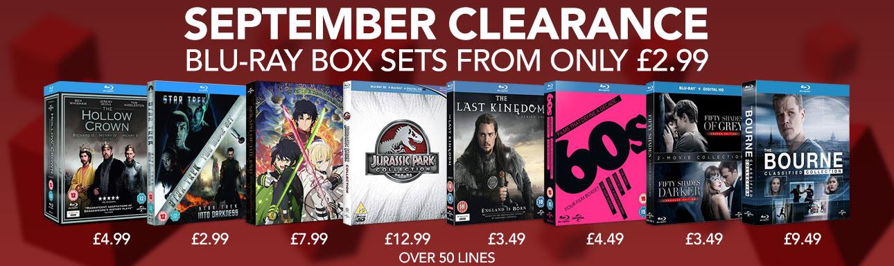 Blu-ray Dealz @zoom | Jason Bourne 1-4 |  Pitch perfect 1&2 | MIB 1-3 | Star Trek & Into Darkness